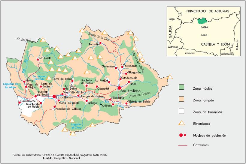 Red Espanola De Reservas De La Biosfera Ficha De La Reserva